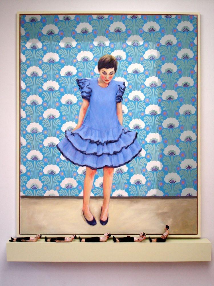 4maedchenundfiguren105x130cmoean-ton2011
