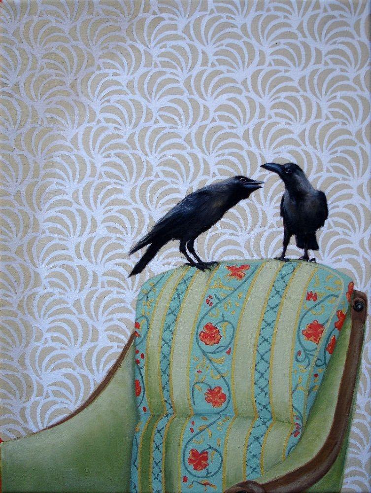 x-Two-black-ravens-40x30-cm-2017-